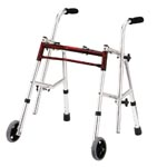 Walker, light walker, light rollator, hip replacement, knee replacement, home health care