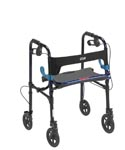Rollator, folding, light weight