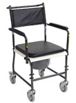 Commode, Bathroom Safety, Wheels, Drop Arm, home health care