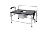Commode, Bariatric, Drop arm, Bathroom Safety, home health care