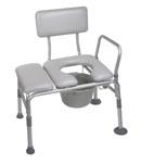 Transfer Bench, Commode, Bath Bench, Bathroom Safety, home health care