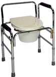 bathroom Safety, commode, adjustable, home health care