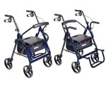 Rollator, Transport chair, transport chair combo, rollator combo