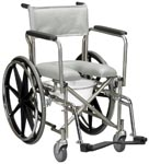Commode, Wheels, removable arms, Bathroom safety, home health care
