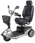 home health care, scooter, 3 wheel scooter, large scooter, age in place, mobility scooter